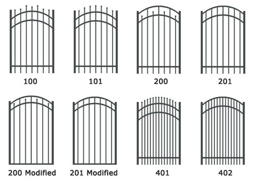 Decorative  Ornamental Metal Fences and Gates
