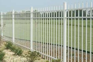 Aluminum vs Steel Fences