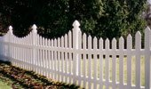 Vinyl Picket Fence Cape Cod Panels