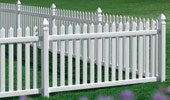 Picket Vinyl Fence Danbury