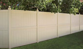 Privacy Vinyl PVC Fence Galveston