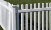 Picket Vinyl Fence Panels Rothbury