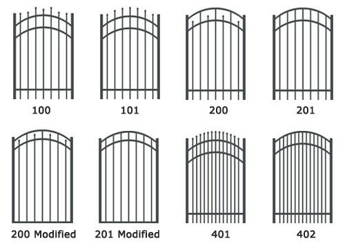 Metal Fence Gates Lowes    Black Metal Fence Black Metal