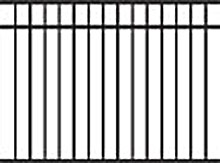 Jerith Aluminum Fence 202 Modified Series