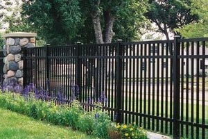 Aluminum Fence Posts Pickets