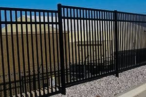 Montage Steel Fence