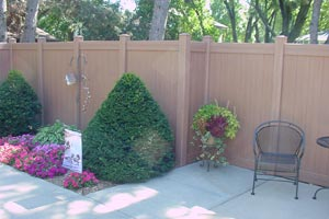 Durable Vinyl PVC Fence