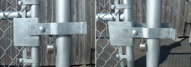 Industrial Gate Latch Pl 152w Chain Link Fence