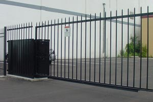 Vertical Pivot Security Gates