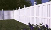 Semi-Privacy Vinyl Fence Millbrook Panel