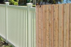 Wood Vs Vinyl Fences Harsh Weather