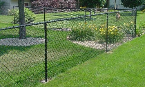 Vinyl Chain Link Fences