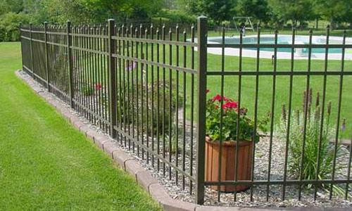 Aluminum Fence Panels Jerith 100 Series