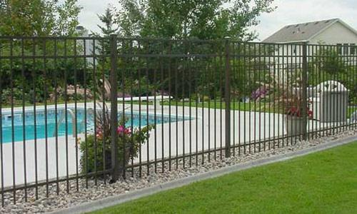 Aluminum Ornamental Fence Jerith Style 202