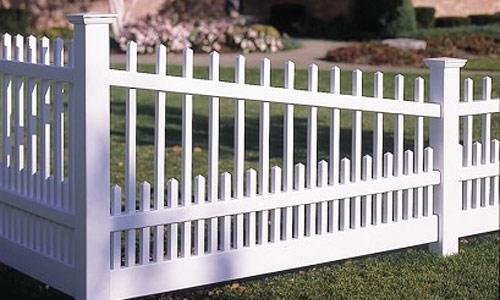 Vinyl Picket Fencing Pvc Fences