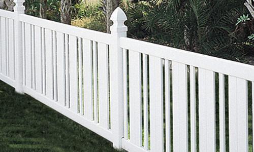 Picket Vinyl Fence Panels PVC Fencing